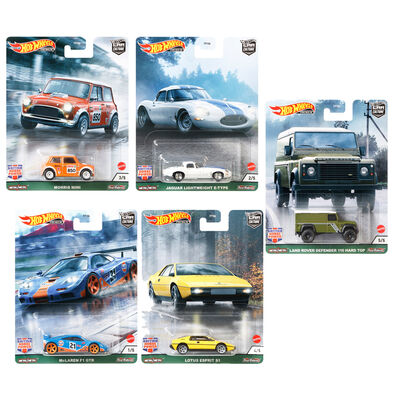 Hot Wheels Car Culture Dash A Set of 10