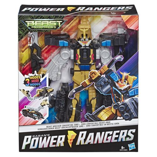 Power Rangers Bmr Triple Converting Zords - Assorted