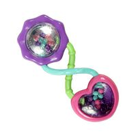 Bright Starts Rattle & Shake Barbell Rattle Pink/Purple