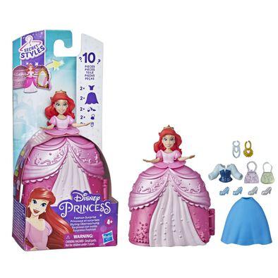 Disney Princess Styling Surprise Ariel, Mini Doll Play Set
