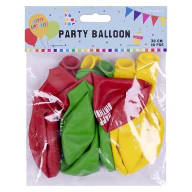 Party Latex Balloon 10 Pieces
