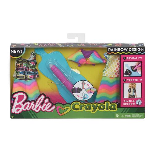 Barbie Diy Crayola Art Fashion - Assorted