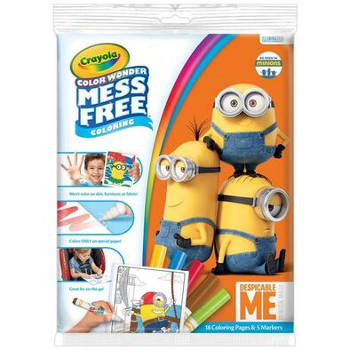 Crayola Color Wonder Mess Free Coloring Despicable Me