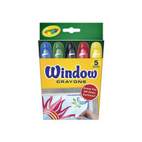 Crayola 5Ct Window Crayons