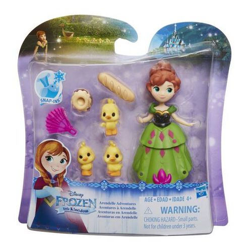 Disney Frozen Small Doll Pack - Assorted W1 16