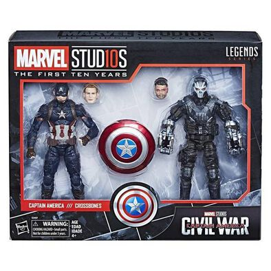 Marvel Studios: The First 10 Years Captain America: Civil War Captain America And Crossbones