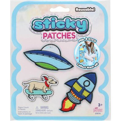 Sticky Patches UFO  102