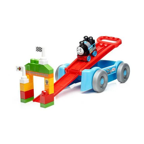 Mega Bloks Racin' Railway Wagon