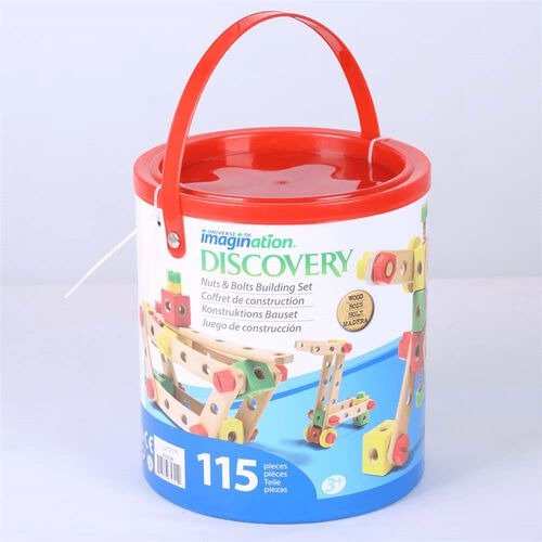 Universe of Imagination 115Pc Construction Bucket