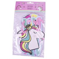 Birthday Letter Banner 2m Unicorn