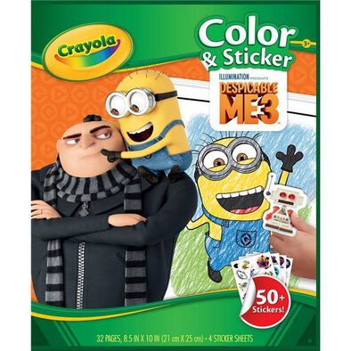 Crayola Color & Sticker Book 24Pk