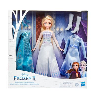 Disney Frozen 2 Elsa's Style Set Doll
