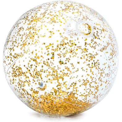Intex Transparent Glitter Beach Ball - Assorted