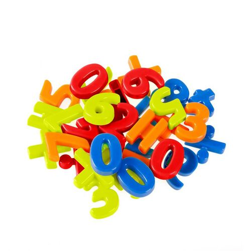 Grow'n Up 32pcs Magnetic Number & Signs