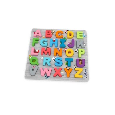 J'adore ABC + Peekaboo Buddies Deluxe Puzzle