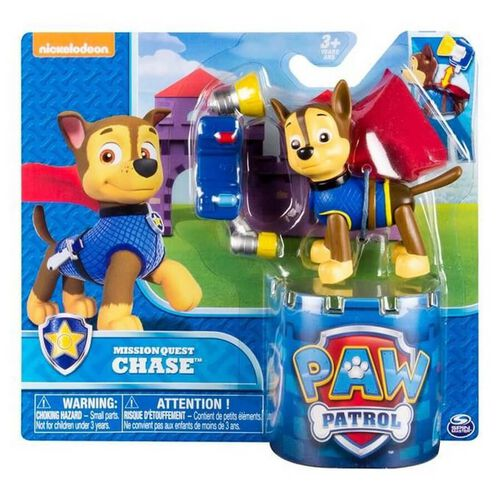 Paw Patrol Figure Hero Pup Series - Assorted