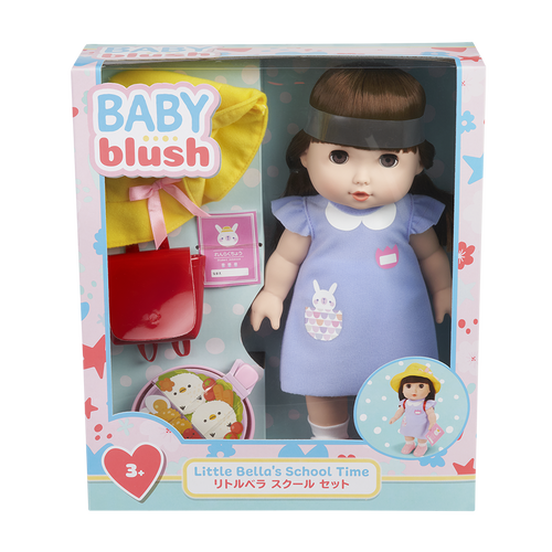 Baby Blush Little Bella's School Time Doll Set