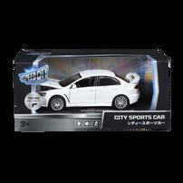 Speed City 1:32 DIECAST VROOM- MITSUBISHI LANCER