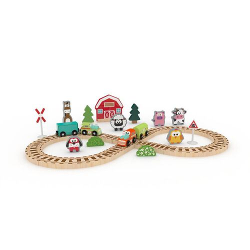 J'adore Farm Train Set