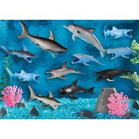 Animal Zone Ocean Bucket (20 Piece)