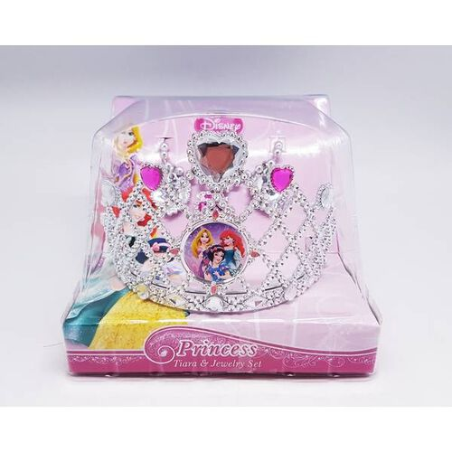 Disney Dp Tiara + Jewelry Set 82255Di