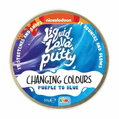 Nickelodeon Putty Changing Colour