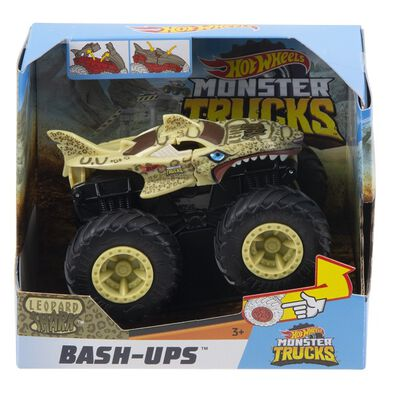 Hot Wheels Monster Trucks 1:43 Scale Bash Ups Asst