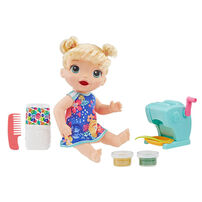 Baby Alive Super Snacks Snackin' Shapes Baby (Blonde Curly Hair)
