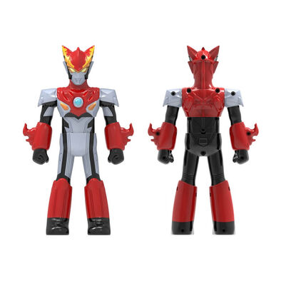 Ultraman Transformation Rosso Flame Type