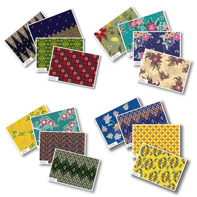 Batik & Songket Cards Assorted