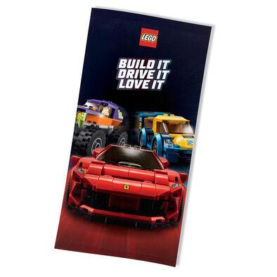 Lego Cars Towel