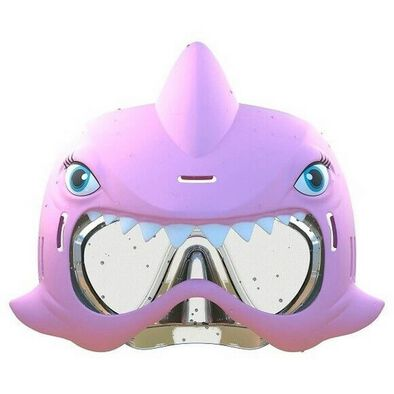 Shark Squirterz & Swim Mask Set Pink
