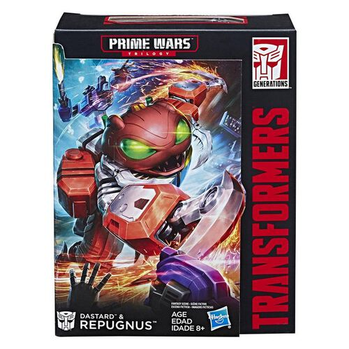 Transformers Generations Power of The Primes Prime Wars Trilogy Special Edition DLX Repugnus