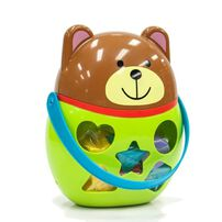 Little Hero Bear Shape Sorting Bucket
