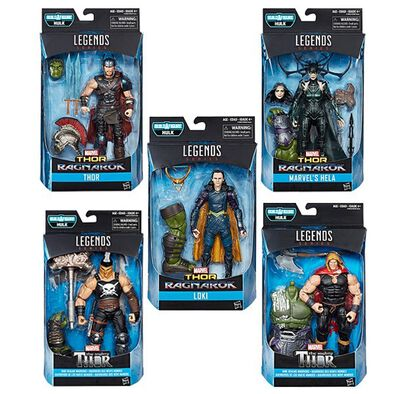Marvel Thor 6 Inch Legends Wv1 17 - Assorted