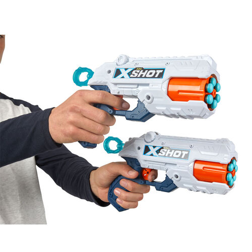 X-Shot Reflex Revolver TK-6 Double Pack