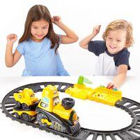 Cat Junior Crew Power Tracks Friends Train Set