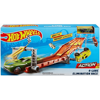 Hot Wheels Act 4 Lane Race Way