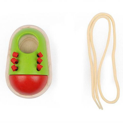 Plantoys Tie-Up Shoe