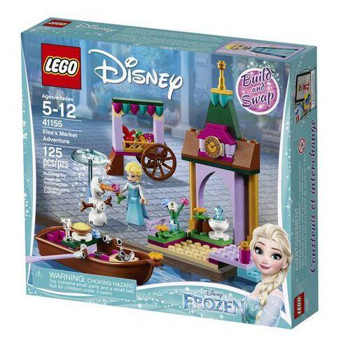 LEGO Disney Frozen Elsa's Market Adventure 41155