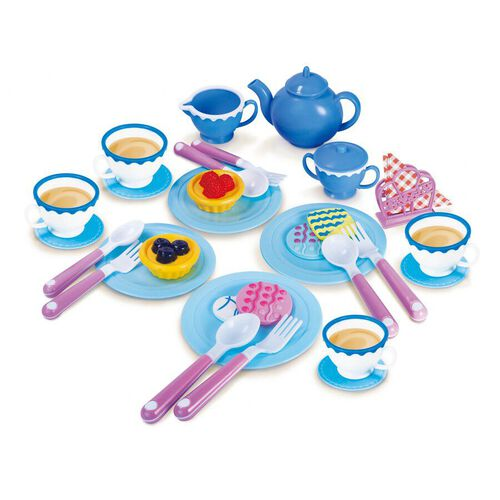 Junior Chef 35 Pieces Tea Set - Assorted