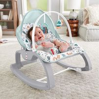 Fisher-Price Deluxe Infant-to-Toddler Rocker Seat