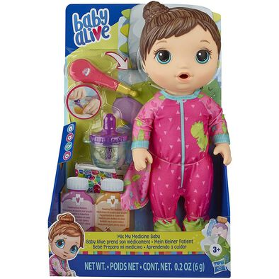 Baby Alive Mix My Medicine Baby Doll