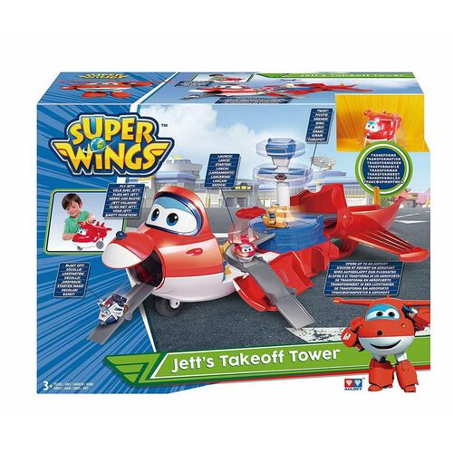 Super Wings Jett'S Take Off Tower