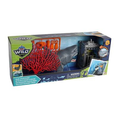 Wild Quest Shark Attack Playset