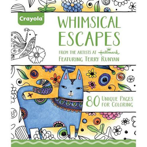 Crayola Coloring Book, Whimsical Escapes