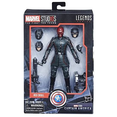 Marvel Studios: The First 10 Years Captain America: The First Avenger Red Skull