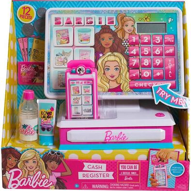 Barbie Large Cash Register