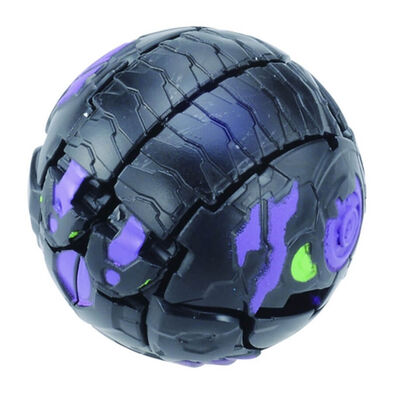 Bakugan Baku-004 BC Ball 6D Db Headed Dragon Black