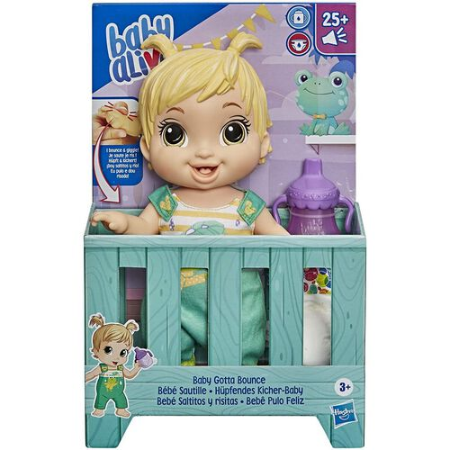 Baby Alive Baby Gotta Bounce Doll